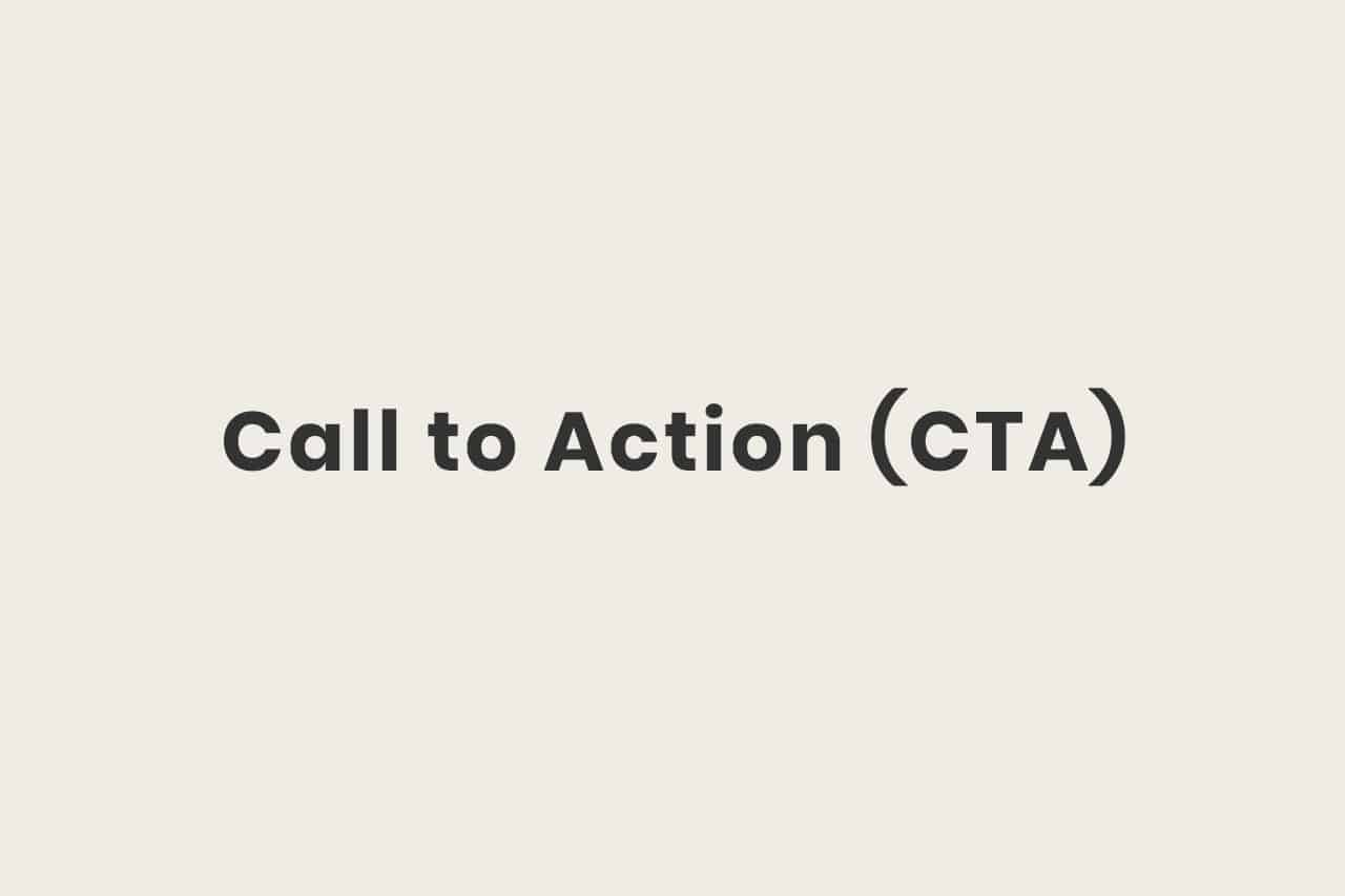 Was ist ein Call to Action