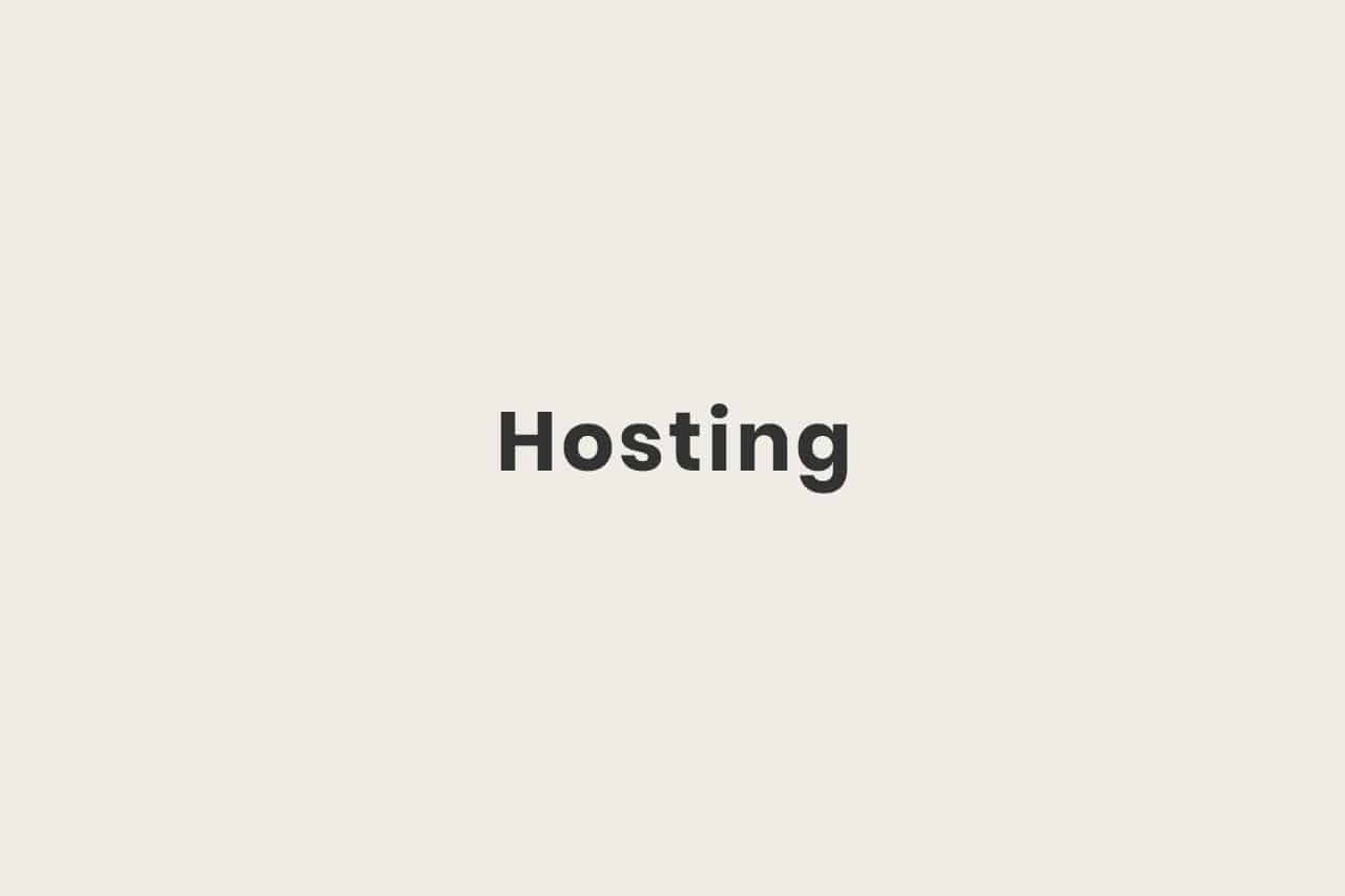 Was ist Hosting